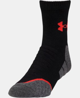 Men's UA All Season Wool Mid Crew Socks  2 Colors $17.99