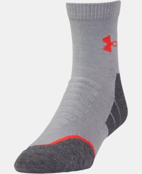 Men's UA All Season Wool Mid Crew Socks