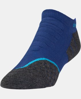 Men's UA All Season Cool Tab No Show Socks LIMITED TIME: FREE U.S. SHIPPING 1 Color $12.99