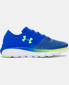 Boys' Grade School UA Fortis 2 TCK Running Shoes  2 Colors $77.99