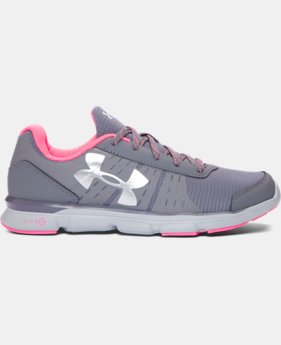 New Arrival Girls' Grade School UA Speed Swift Grit Running Shoes   $59.99