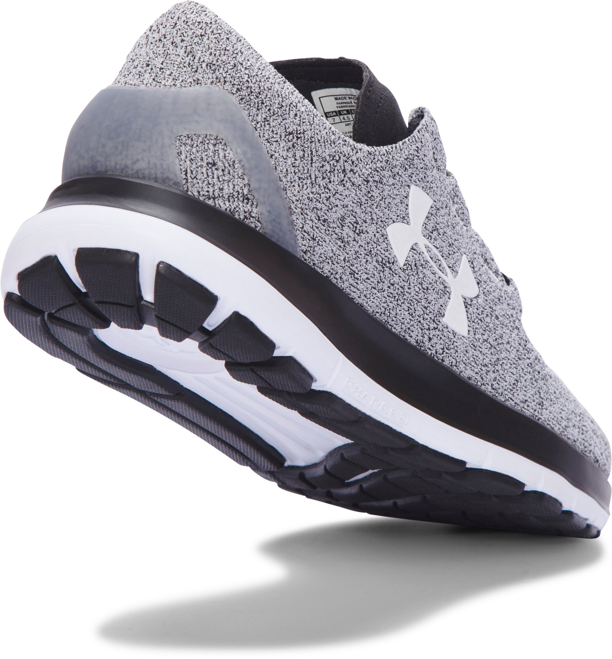 Women's UA SpeedForm® Slingride Running Shoes, GLACIER GRAY,