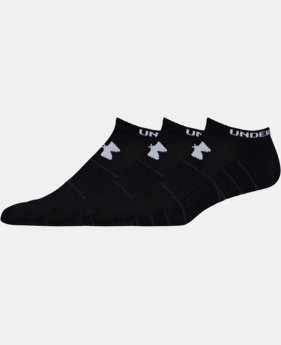 3-Pack Men's UA Performance No Show Socks 3-Pack   $17.99