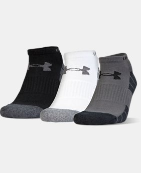 Men's UA Elevated Performance No Show Socks – 3-Pack  1 Color $17.99 to $18