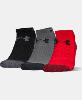 Men's UA Performance No Show Socks – 3-Pack  2 Colors $18