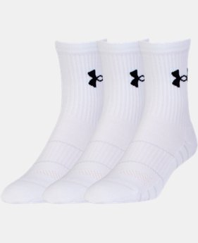Men's UA Performance Mid Crew Socks