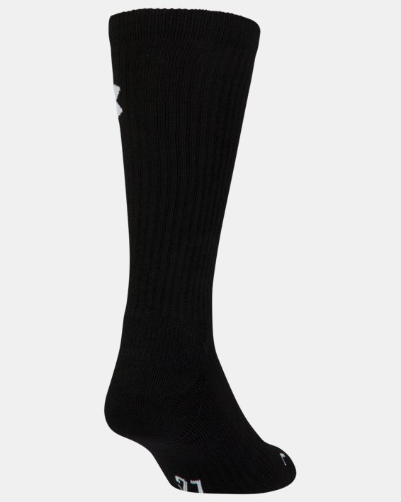 UA Performance Crew Socks - 3-Pack, Red, pdpMainDesktop image number 8