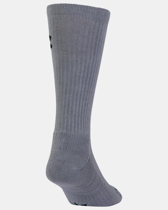 UA Performance Crew Socks - 3-Pack, Red, pdpMainDesktop image number 9