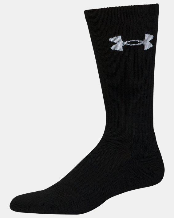 UA Performance Crew Socks - 3-Pack, Red, pdpMainDesktop image number 11