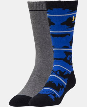 2-Pack Men's UA Sportstyle Camo Crew Socks 2-Pack  1 Color $19.99