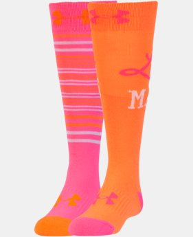 Girls' UA Like A Girl Knee High Socks