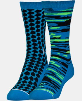 2-Pack Women's UA Sportstyle Crew Socks 2-Pack  1 Color $17.99