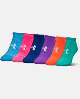 New Arrival  Women's UA Twist No Show Socks  1 Color $22.99