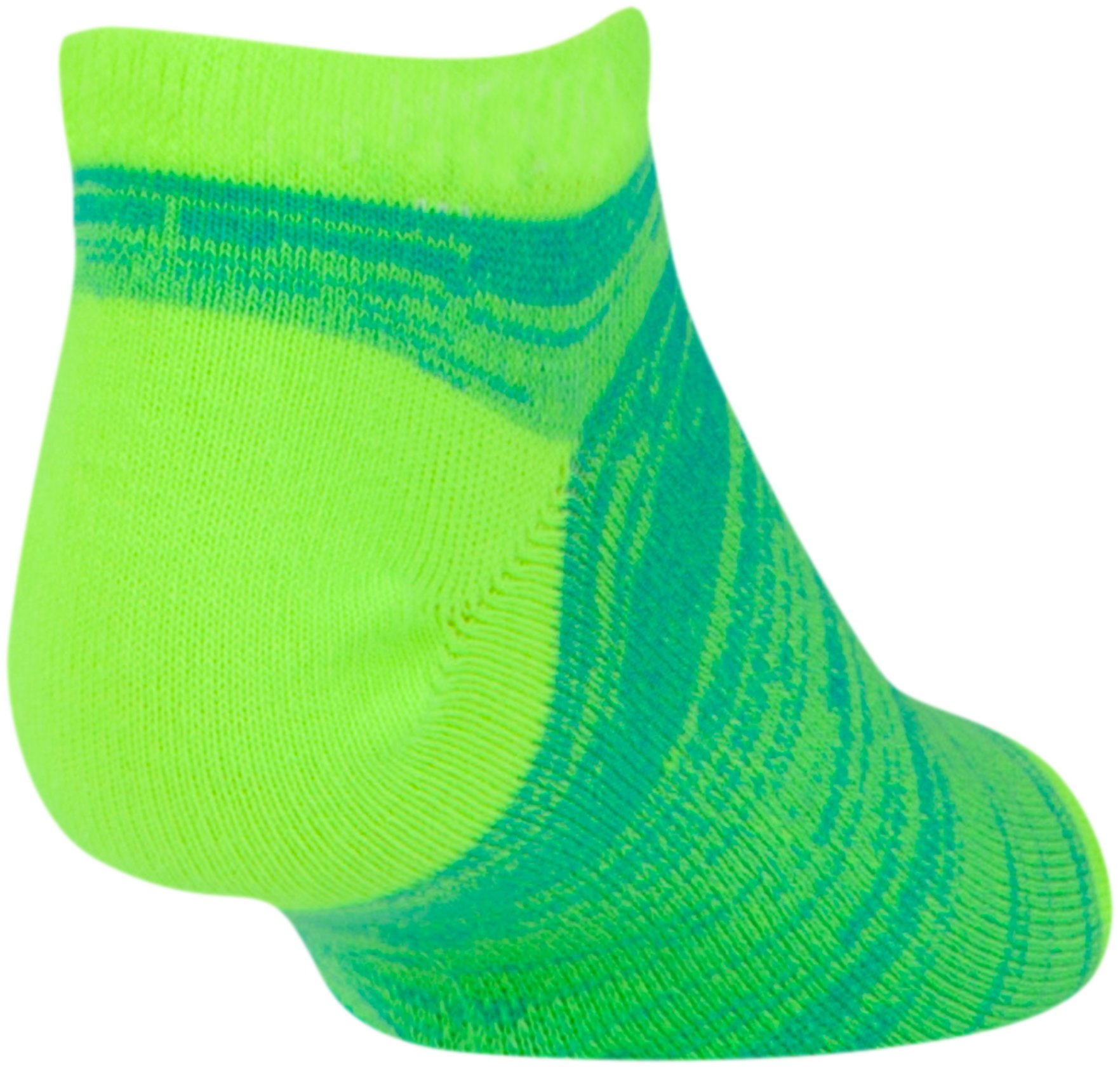 Girls' UA Essential Twist No Show Socks - 6 Pack, Assorted,