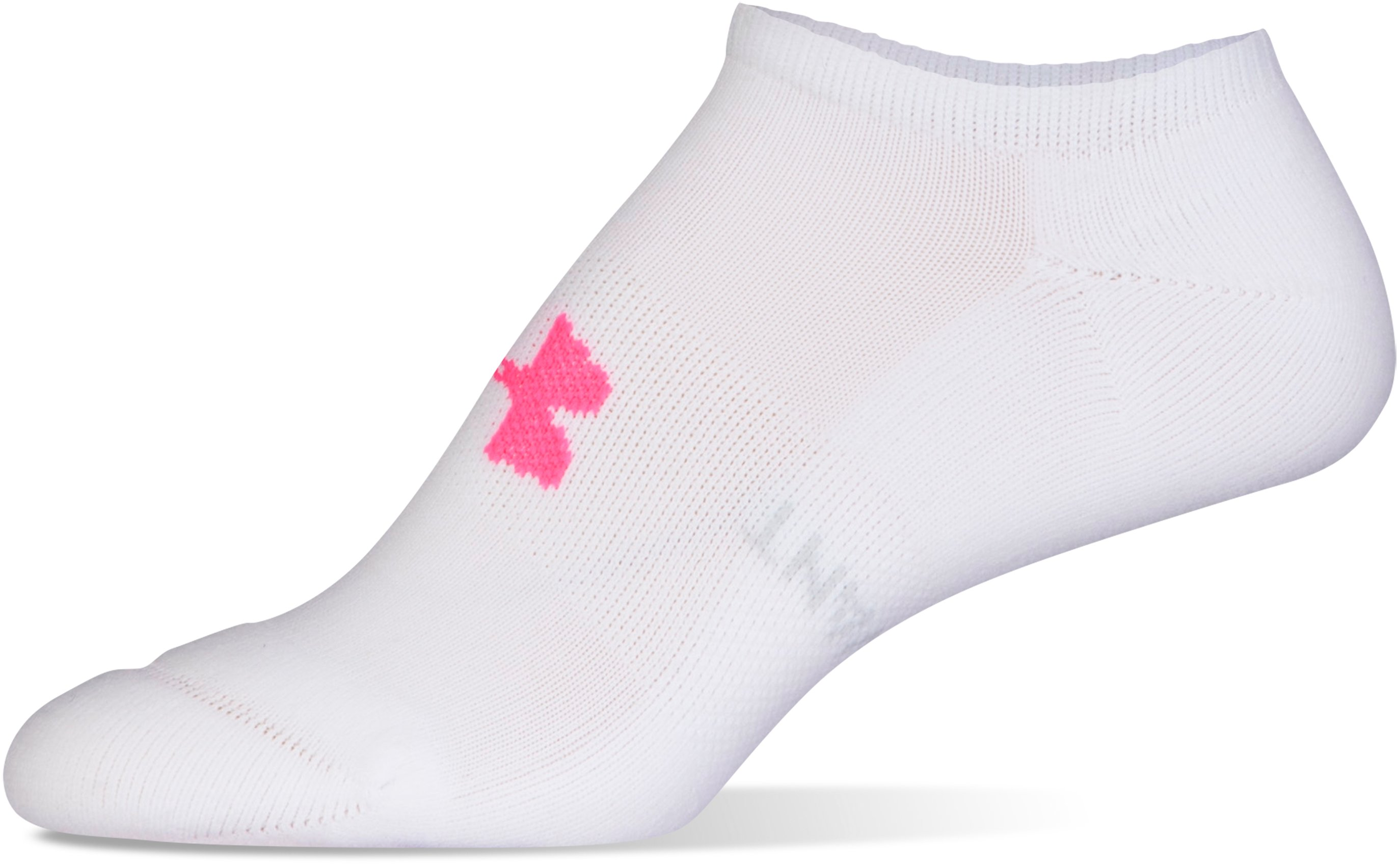 Women's UA Athletic SoLo Socks – 3-Pack, White, undefined