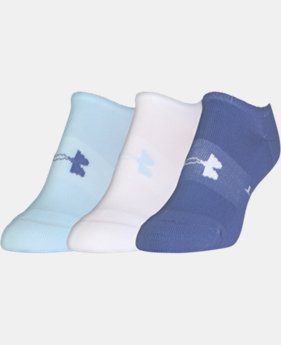 3-Pack Women's UA Athletic SoLo Socks LIMITED TIME: FREE U.S. SHIPPING 4 Colors $14.99