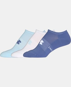 3-Pack Women's UA Athletic SoLo Socks 6-Pack  5 Colors $14.99