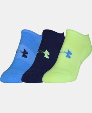 3-Pack Women's UA Athletic SoLo Socks LIMITED TIME: FREE U.S. SHIPPING 1 Color $14.99
