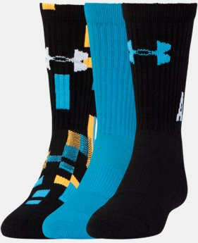 Boys' UA NEXT Statement Crew Socks