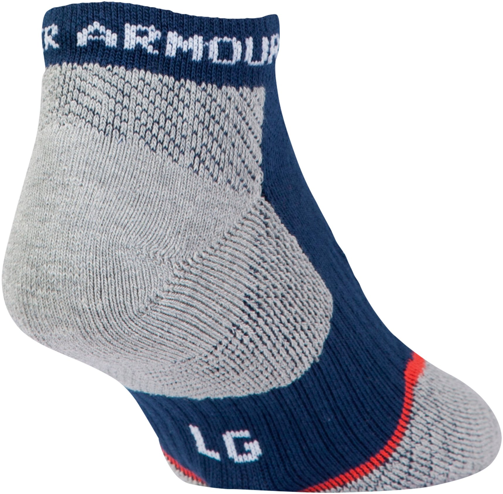 Men's UA Tour No Show Socks, Midnight Navy