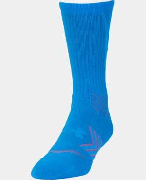 Men's UA Undeniable Reflective Crew Socks LIMITED TIME: FREE U.S. SHIPPING 1 Color $11.24