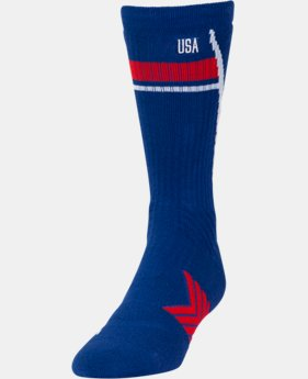 Men's UA Undeniable Country Pride Crew Socks  1 Color $16.99