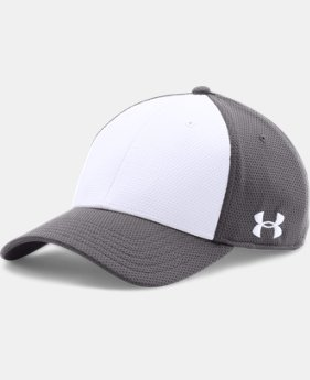 Men's UA Color Blocked Stretch Fit Cap  1 Color $22.99