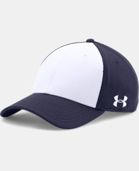 Men's UA Color Blocked Stretch Fit Cap  1  Color Available $19.99