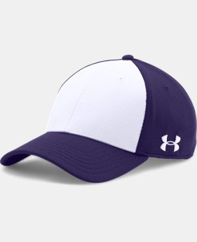 Men's UA Color Blocked Stretch Fit Cap  1  Color Available $14.99