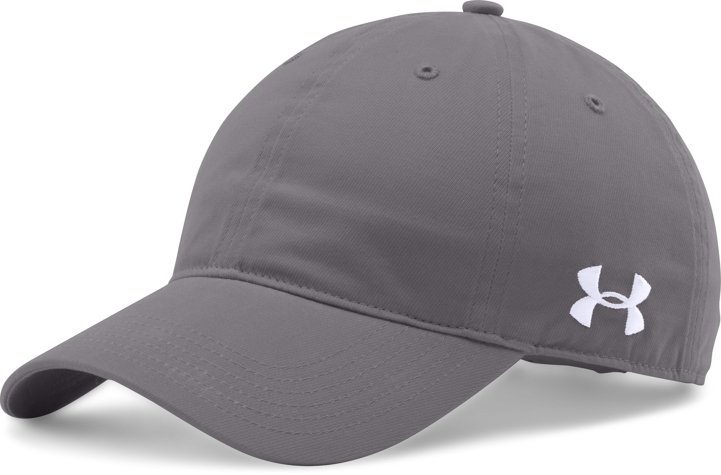 Men's UA Chino Adjustable Cap, Graphite