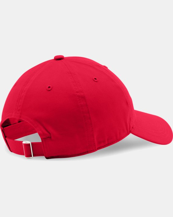 Men's UA Chino Adjustable Cap, Red, pdpMainDesktop image number 1