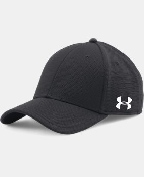 Men's UA Curved Brim Stretch Fit Cap  3 Colors $19.99