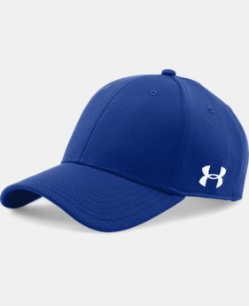 Men's UA Curved Brim Stretch Fit Cap  1 Color $19.99