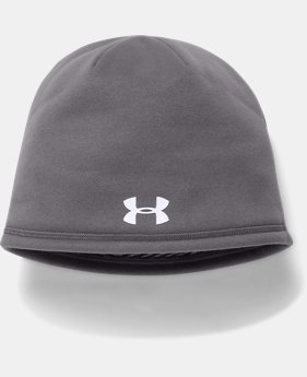 Men's UA Storm ColdGear® Infrared Beanie  3  Colors Available $29.99