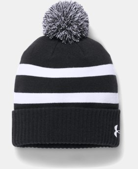 Men's UA Pom Beanie  2  Colors Available $34.99