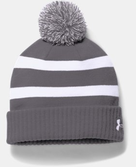 New to Outlet Men's UA Pom Beanie LIMITED TIME OFFER 1 Color $20.99