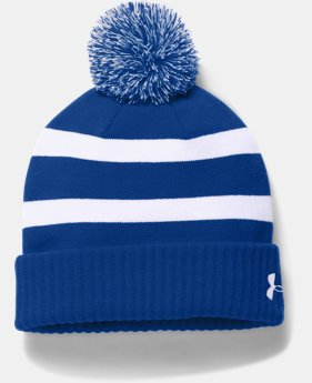 Men's UA Pom Beanie  2  Colors Available $29.99