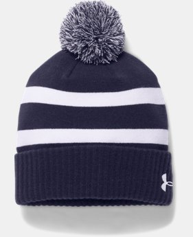 Men's UA Pom Beanie LIMITED TIME OFFER 1 Color $20.99