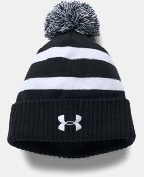 Boys' UA Pom Beanie  2  Colors Available $24.99