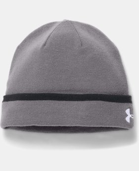 Men's UA Cuff Beanie  1  Color Available $27.99