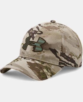 New Arrival Men's UA Camo Big Logo 2.0 Cap   $24.99