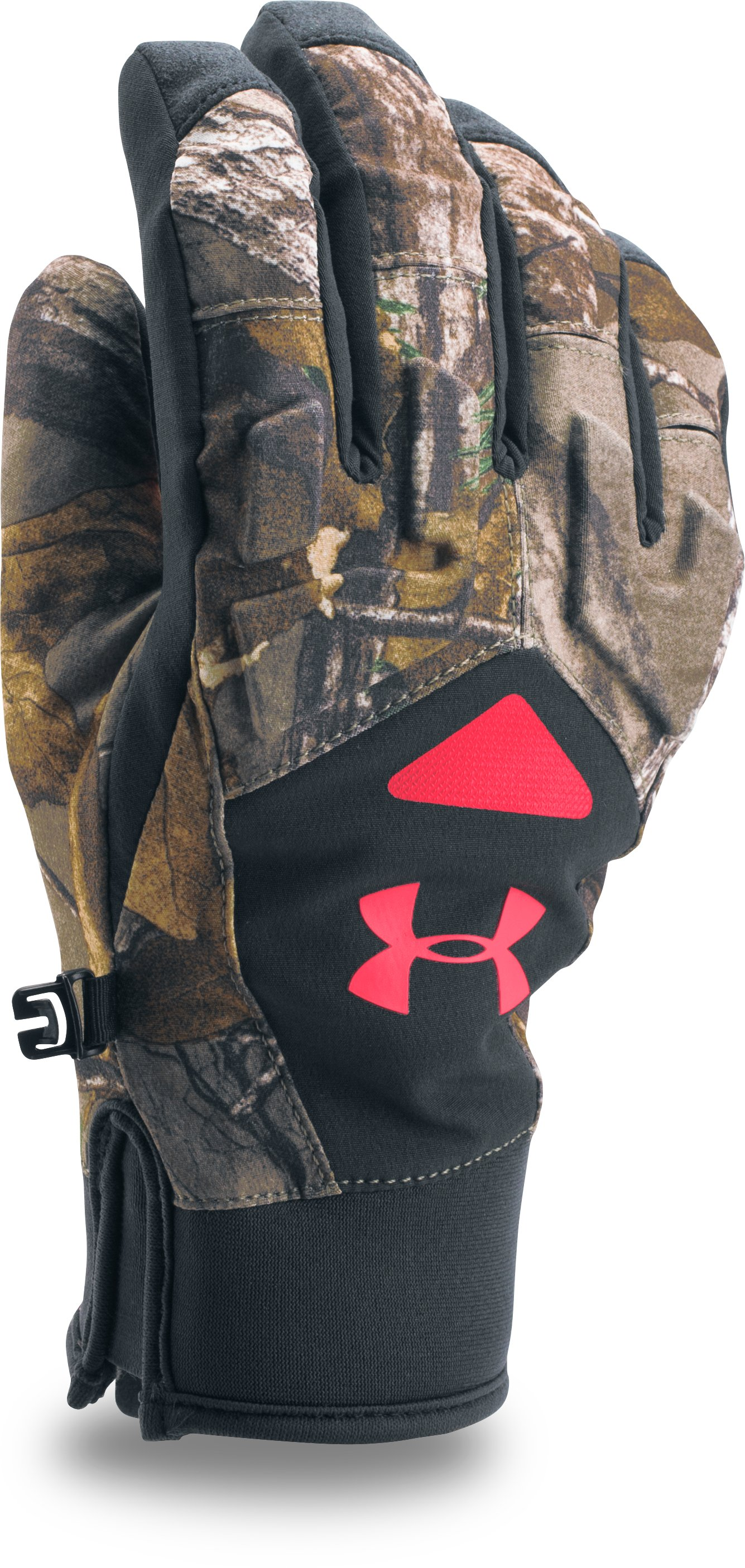 Women's UA Primer 2.0 Gloves, REALTREE AP-XTRA, undefined