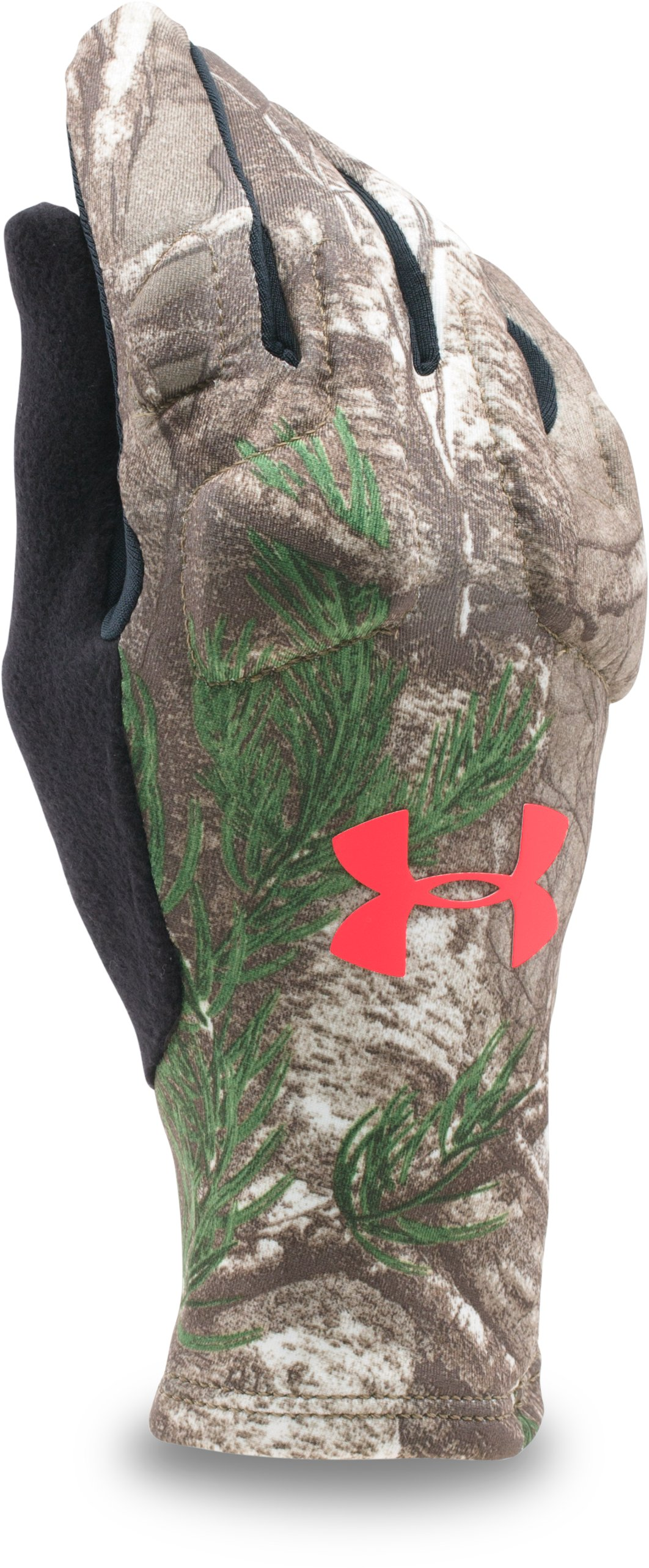 Women's UA Scent Control 2.0 Liner Gloves, REALTREE AP-XTRA, undefined