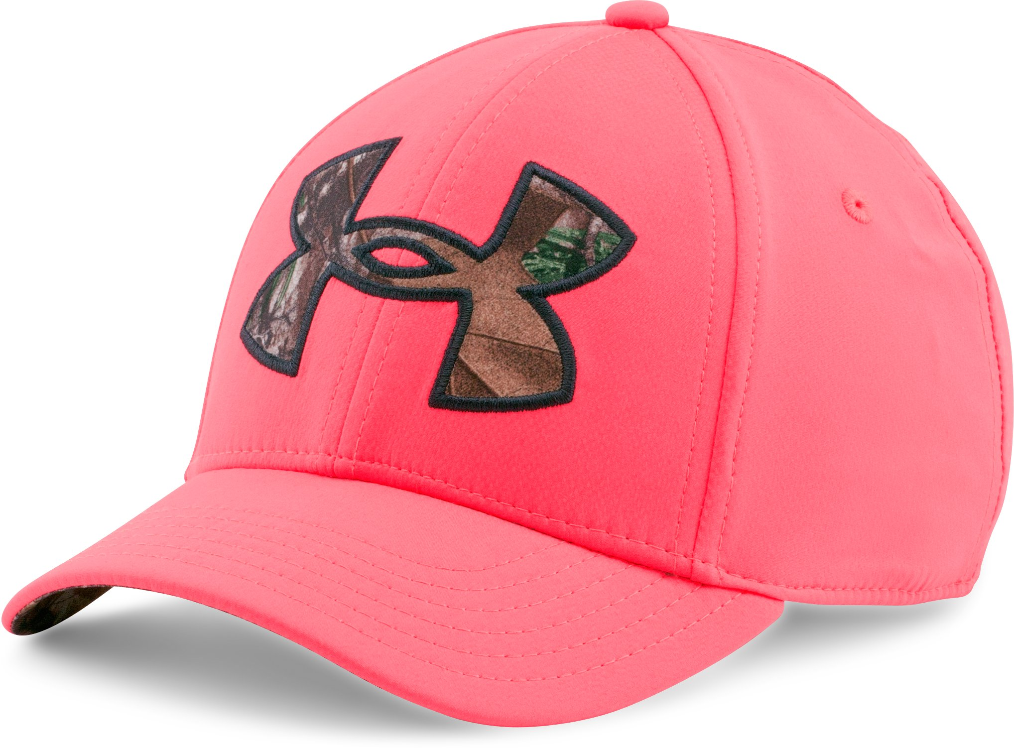 Women's UA Caliber 2.0 Cap, PINK CHROMA, zoomed image
