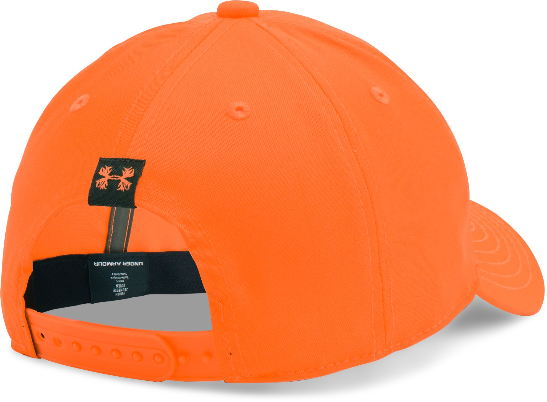 Boys' UA Hunt Cap, Blaze Orange, zoomed image