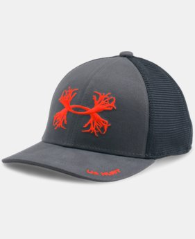 New Arrival  Boys' UA Antler Mesh Cap LIMITED TIME: FREE SHIPPING 1 Color $17.99