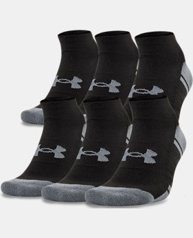 Best Seller UA Resistor III No Show Socks – 6-Pack  1  Color Available $22