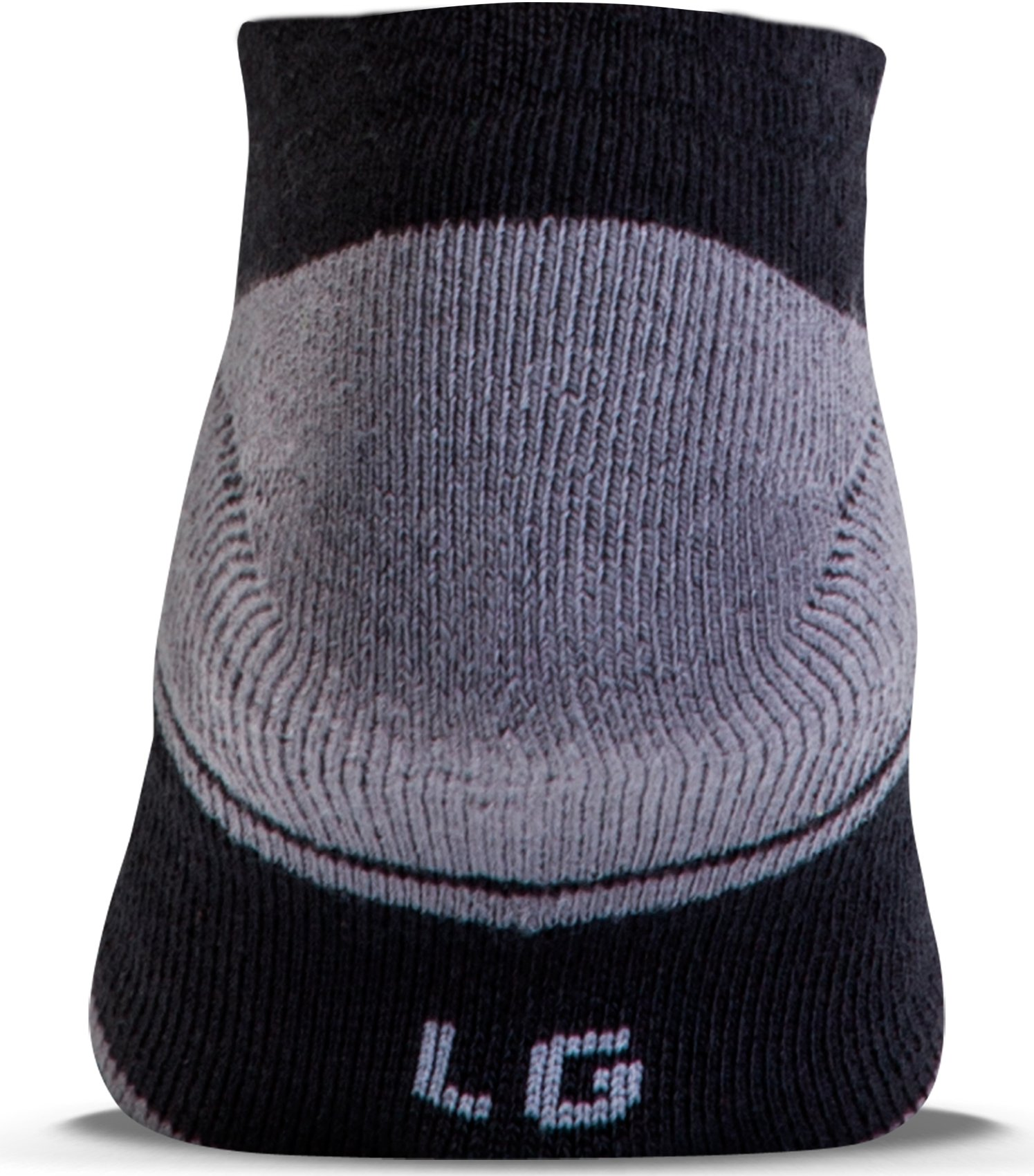 Men's UA Resistor III No Show Socks – 6-Pack, Black , undefined