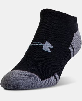 6-Pack Men's UA Resistor III No Show Socks 6-Pack  1 Color $21.99