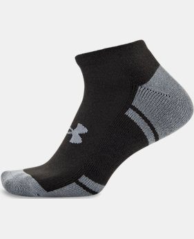 Men's UA Resistor III No Show Socks 6-Pack